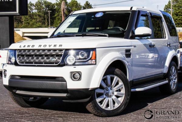 2016 Land Rover LR4 Base
