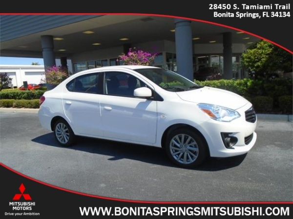 2018 mitsubishi mirage g4 es sedan cvt for sale in bonita springs