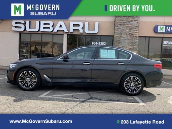 2017 BMW 5 Series in North Hampton, NH