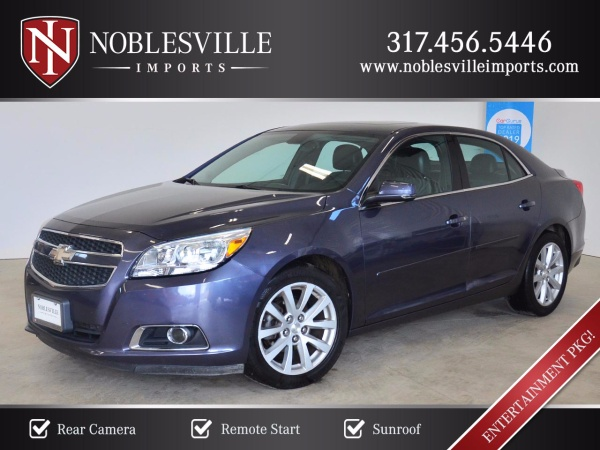 2013 Chevrolet Malibu Lt With 2lt For Sale In Noblesville