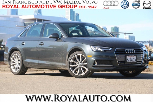 Audi San Francisco >> Audi A4