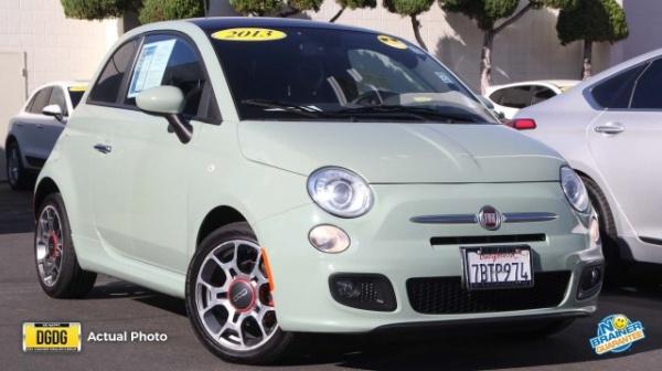 Fiat 500 recall 2013