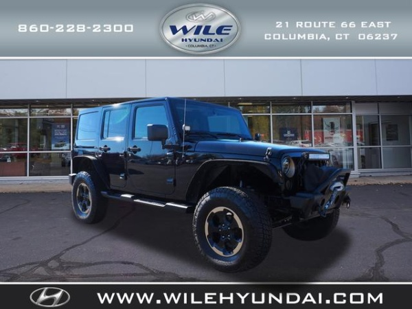 2014 Jeep Wrangler in Columbia, CT