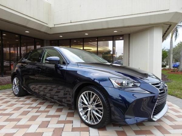 2017 Lexus IS in Pembroke Pines, FL