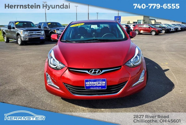 Herrnstein Hyundai Chillicothe Ohio >> 2016 Hyundai Elantra Se Sedan Automatic For Sale In