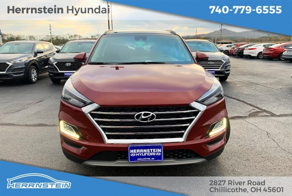 Herrnstein Hyundai Chillicothe Ohio >> 2020 Hyundai Tucson Ultimate For Sale In Chillicothe Oh