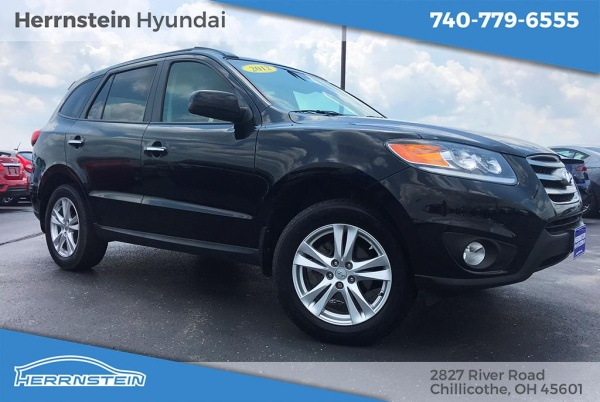 Herrnstein Hyundai Chillicothe >> 2012 Hyundai Santa Fe Limited I4 Fwd For Sale In Chillicothe Oh