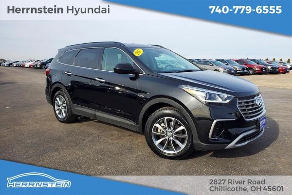 Herrnstein Hyundai Chillicothe >> 2017 Hyundai Santa Fe Se 3 3l Awd For Sale In Chillicothe