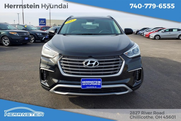 Herrnstein Hyundai Chillicothe Ohio >> 2017 Hyundai Santa Fe Se 3 3l Awd For Sale In Chillicothe