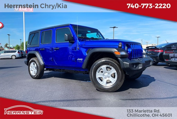 2020 Jeep Wrangler in Chillicothe, OH