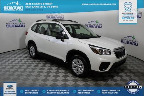 2019 Subaru Forester in Salt Lake City, UT
