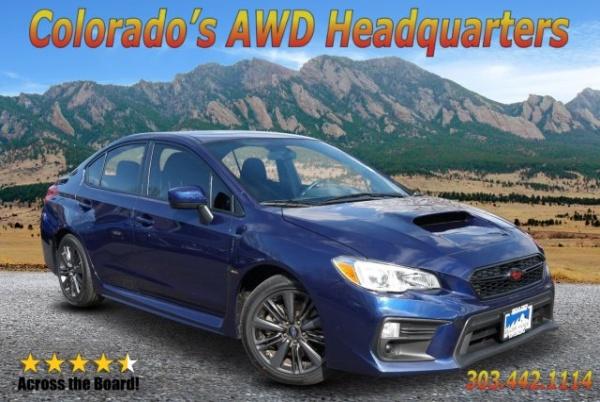 2018 Subaru Wrx Base Manual For Sale In Boulder Co Truecar