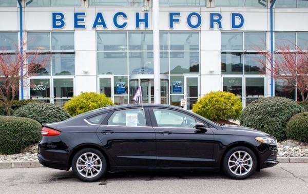 2017 Ford Fusion in Virginia Beach, VA