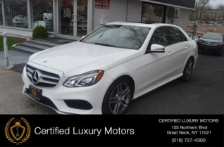 2016 Mercedes Benz E Cl 350 4matic Sport Sedan For In Greatneck
