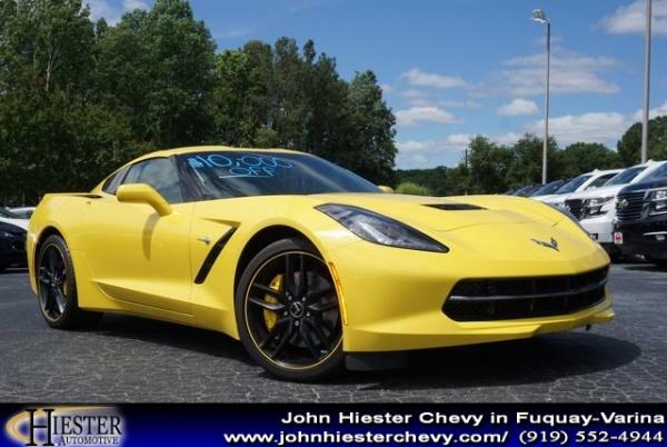 John Hiester Chevrolet Fuquay >> 2017 Chevrolet Corvette Stingray Z51 3lt Coupe For Sale In Fuquay