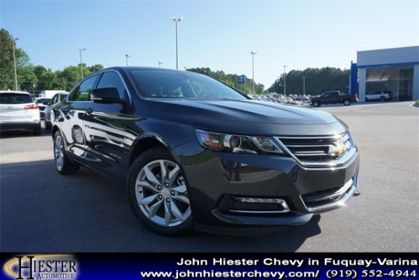 John Hiester Chevrolet Fuquay >> 2019 Chevrolet Impala Lt With 1lt For Sale In Fuquay Varina Nc