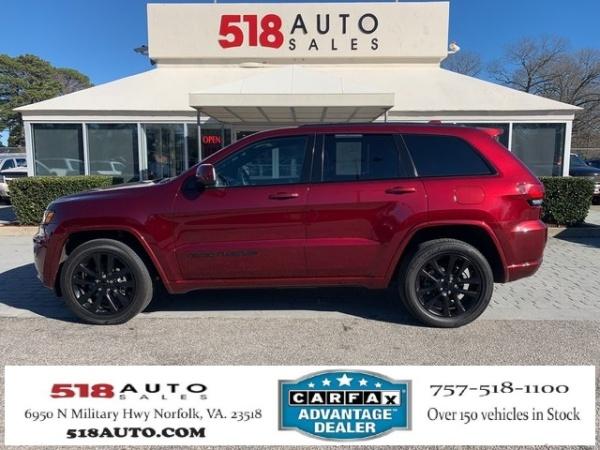 2018 Jeep Grand Cherokee in Norfork, VA