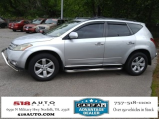 Used 2006 Nissan Murano S FWD For Sale In Norfork, VA