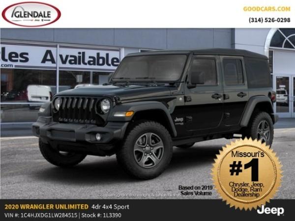 2020 Jeep Wrangler in Glendale, MO