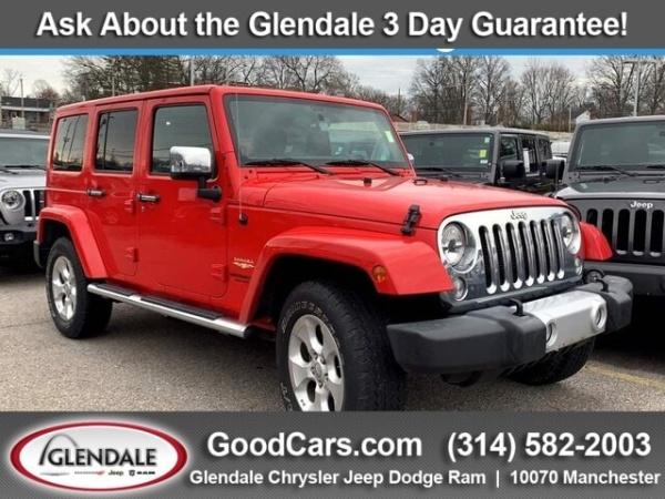 2015 Jeep Wrangler in Glendale, MO