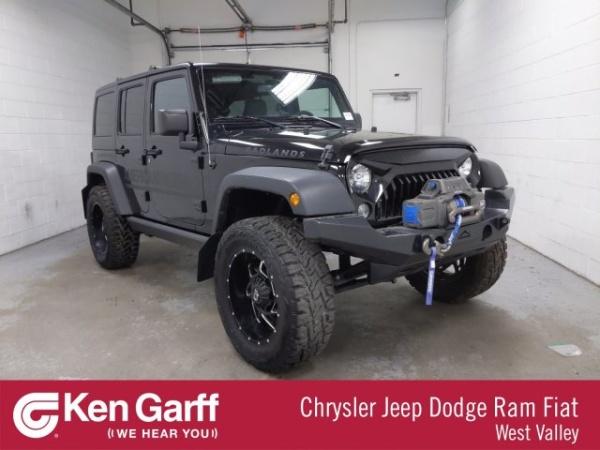 2018 Jeep Wrangler in West Valley, UT