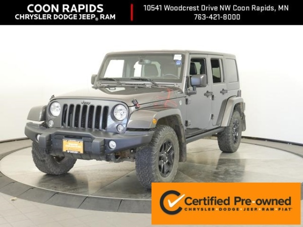 2016 Jeep Wrangler in Coon Rapids, MN