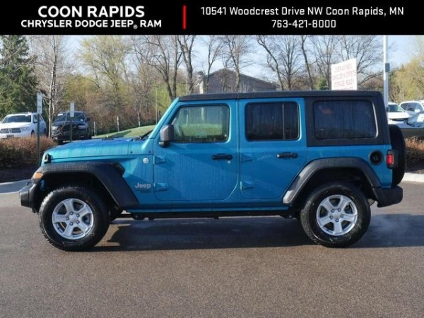 Coon Rapids Jeep >> 2019 Jeep Wrangler Unlimited Sport S For Sale In Coon Rapids
