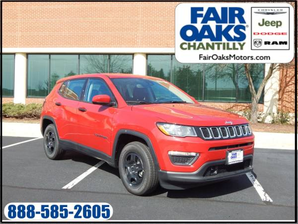 2020 Jeep Compass in Chantilly, VA