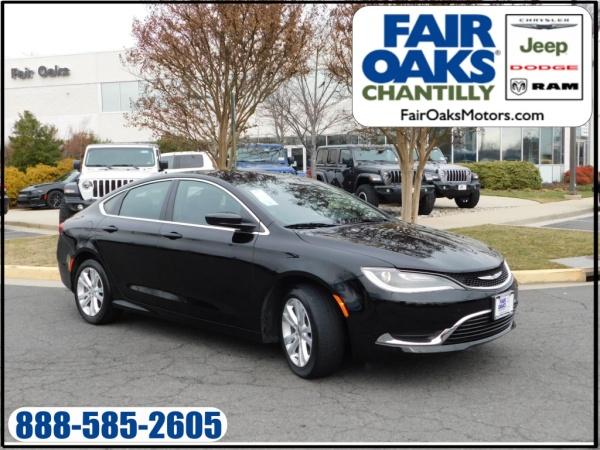 2016 Chrysler 200 in Chantilly, VA