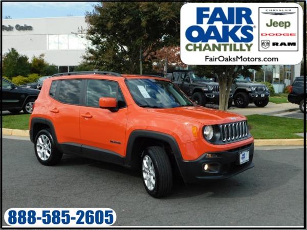 2018 Jeep Renegade in Chantilly, VA