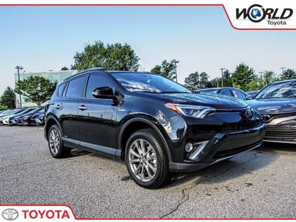 2017 Toyota Rav4 Hybrid Limited Awd 28 634 Msrp Atlanta Ga