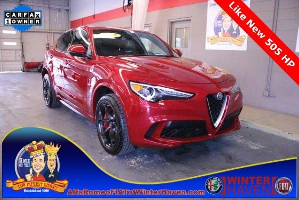 2018 Alfa Romeo Stelvio Quadrifoglio Base