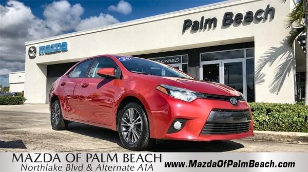 2016 Toyota Corolla in North Palm Beach, FL