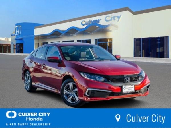 2019 Honda Civic in Culver City, CA