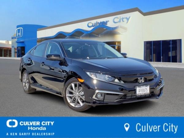 Culver City Honda Service >> 2019 Honda Civic Ex Sedan Cvt For Sale In Culver City Ca