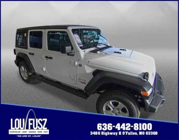 2020 Jeep Wrangler in O'Fallon, MO
