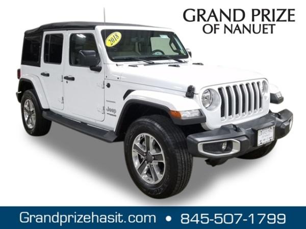 2018 Jeep Wrangler Unlimited Sahara Jl For Sale In Nanuet Ny