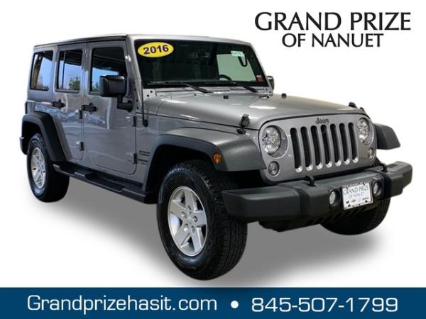 2016 Jeep Wrangler Unlimited Sport For Sale In Nanuet Ny Truecar