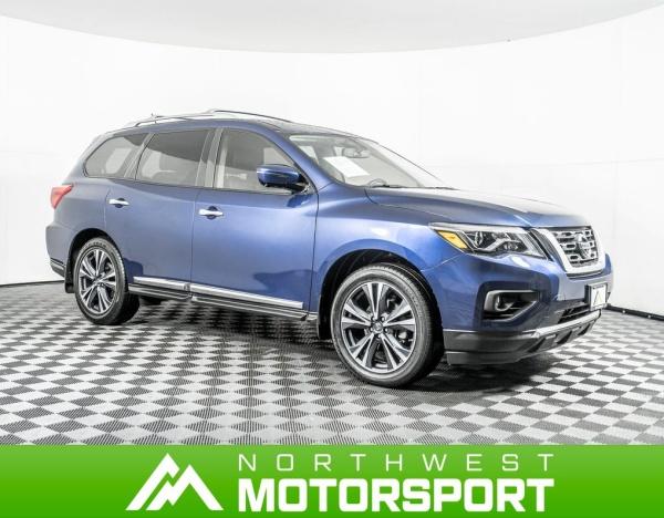 2017 Nissan Pathfinder in Puyallup, WA