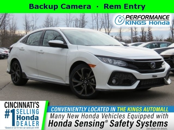 Honda Dealers Cincinnati >> 2019 Honda Civic Sport Hatchback Cvt For Sale In Cincinnati Oh
