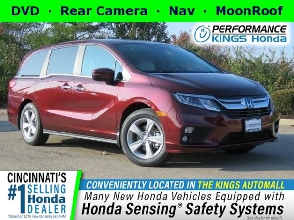 Honda Dealers Cincinnati >> 2019 Honda Odyssey Ex L With Navigation Rear Entertainment System