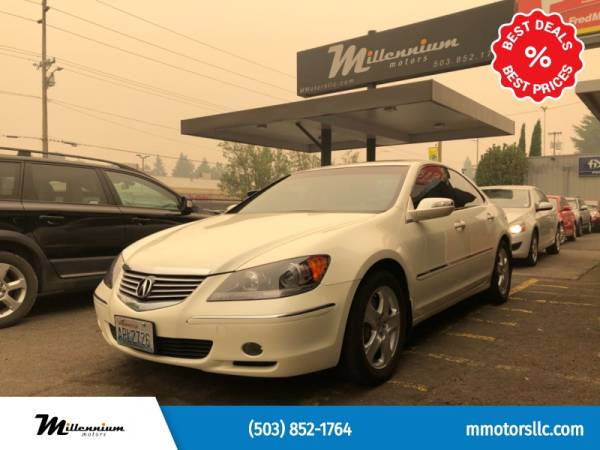 2008 Acura RL with Technology Package