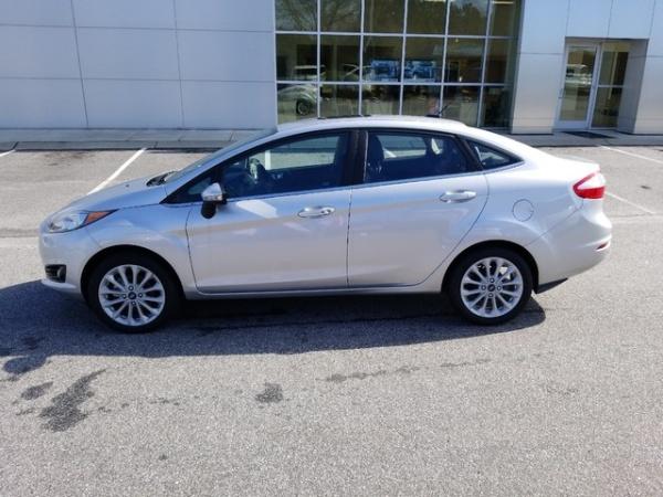2018 Ford Fiesta Titanium Sedan For Sale In Honea Path Sc Truecar