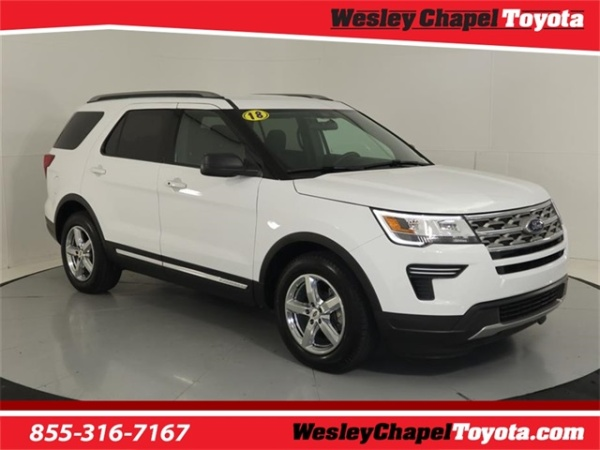 Wesley Chapel Ford >> 2018 Ford Explorer Xlt Fwd For Sale In Wesley Chapel Fl
