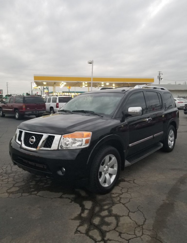 new and used nissan armada for sale in little rock ar u s news world report. Black Bedroom Furniture Sets. Home Design Ideas