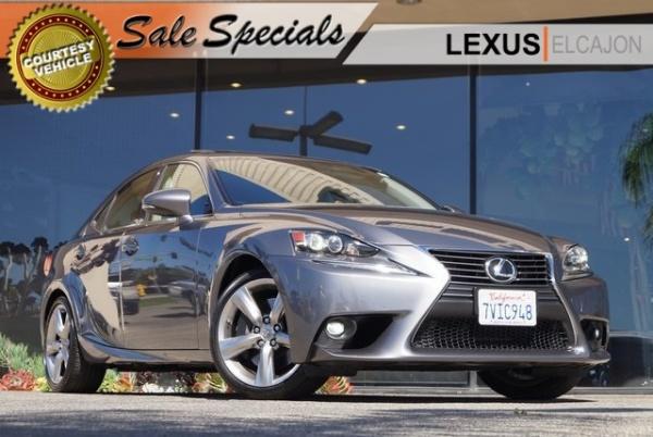 2016 Lexus IS In El Cajon, CA