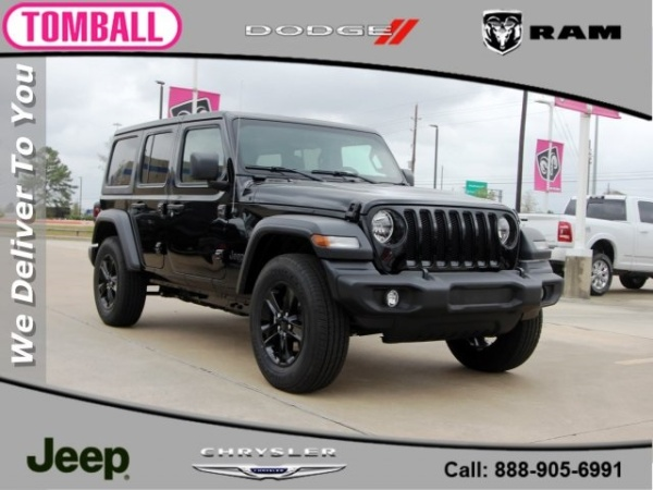 2020 Jeep Wrangler in Tomball, TX