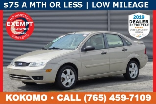 2007 Ford Focus Ses Sedan For In Kokomo