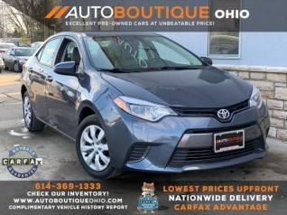 Toyota Columbus Ohio >> Used Toyota Corollas For Sale In Columbus Oh Truecar
