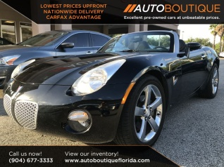 2007 Pontiac Solstice 2dr Convertible For In Jacksonville Fl